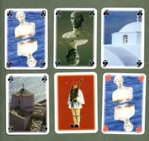 Collectible souvenir playing cards CRETE